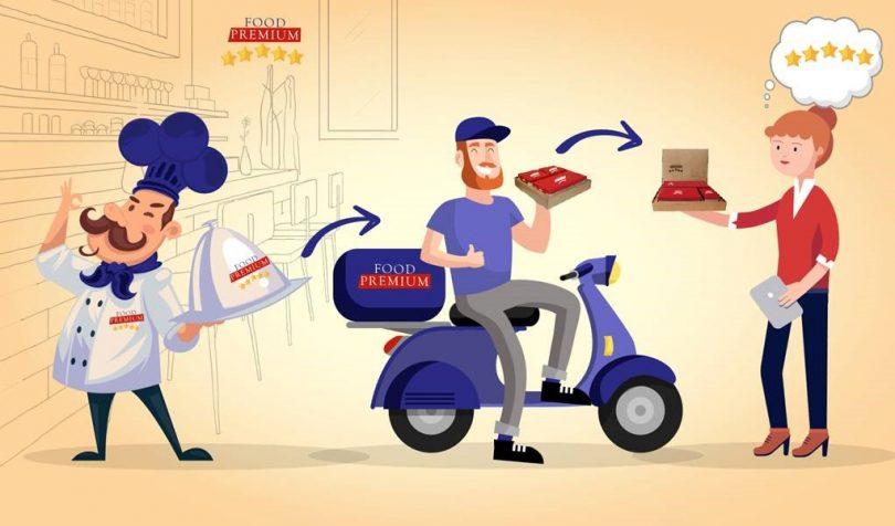 embalagens finas para delivery