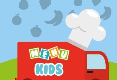 embalagem para delivery de menu kids
