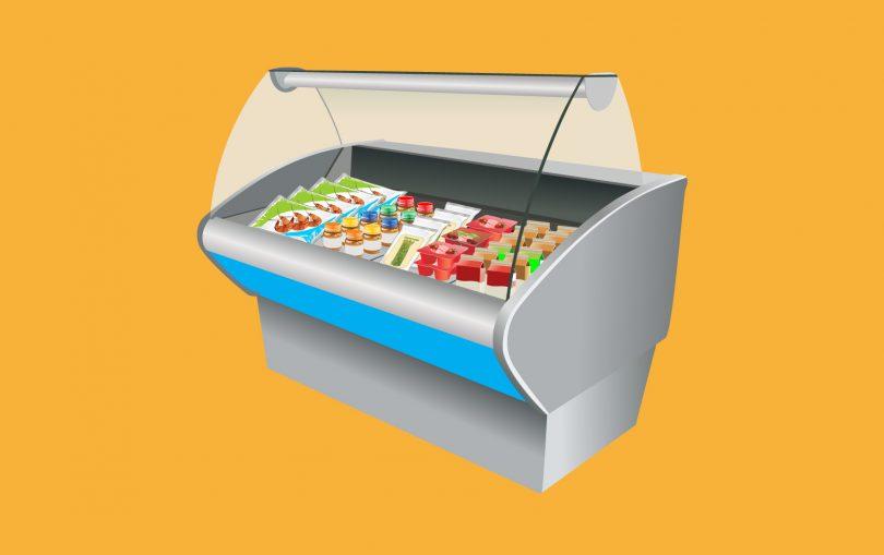 embalagem para alimentos congelados