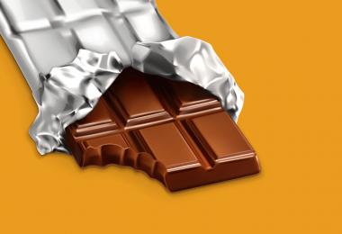 embalagem para chocolate
