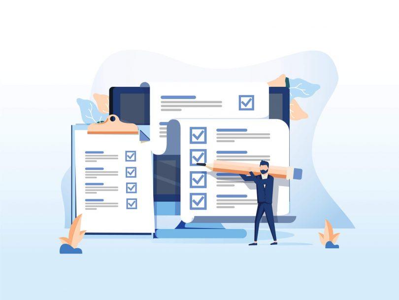 checklist para serviço de delivery