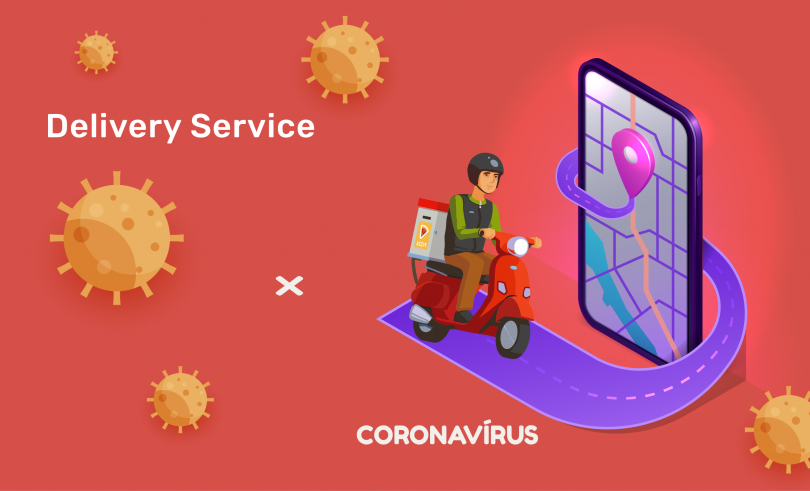 delivery de comida x coronavirus