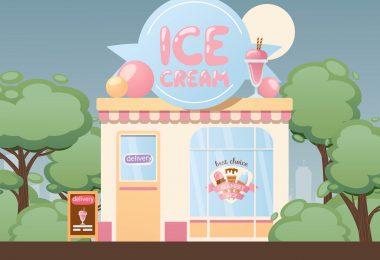 embalagem para sorvete